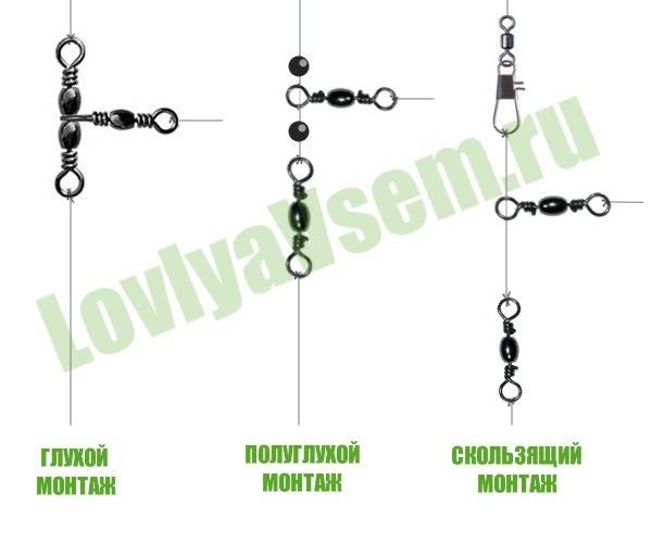 отводной поводок монтаж и проводками