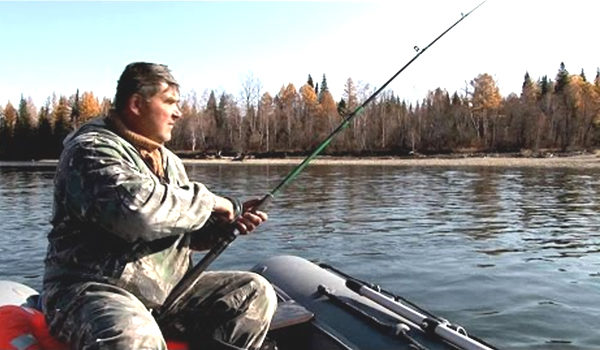 ловля щуки на таежных реках