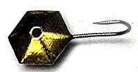 Мормышка плоский шестигранник