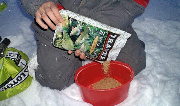 Зимнее приготолвение прикормки