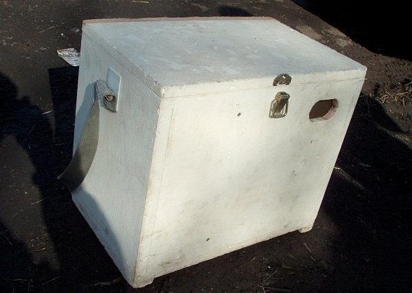 Зимний ящик из пенопласта