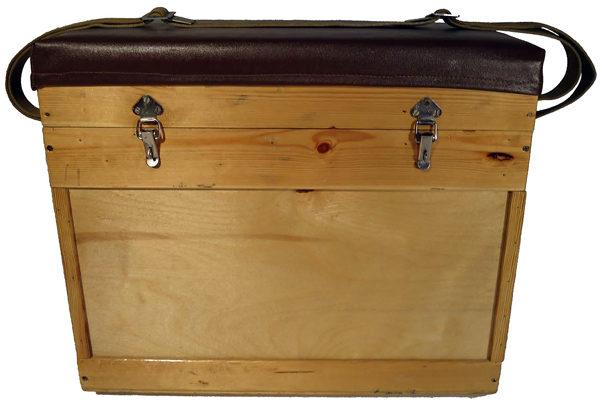 Фанерный зимний ящик