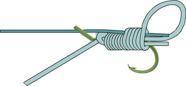 Как привязать крючок к леске: подборка проверенных узлов