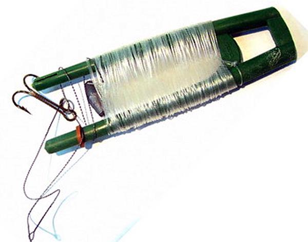 как застопорить жерлицу резинкой