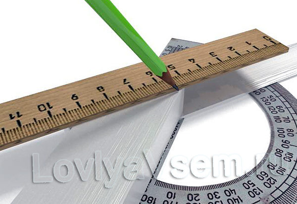 Задание угла между ручкой и ножом квока