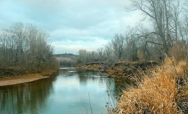 Осенняя река