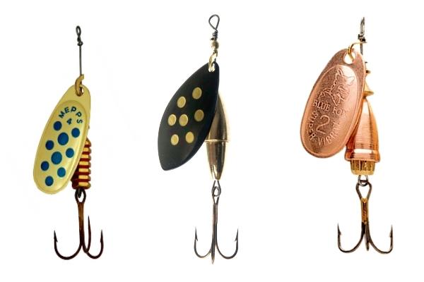 Блесна на судака: ловля на летние вертушки и колебалки