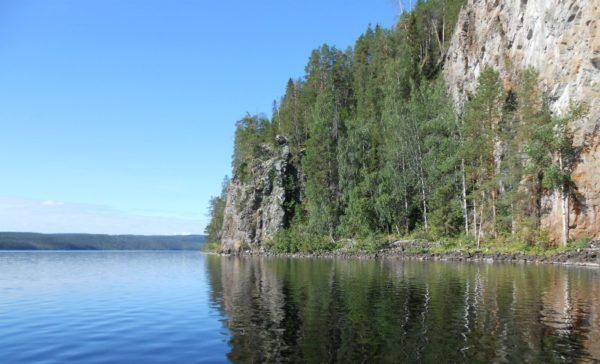 вид на озеро Паанаярви