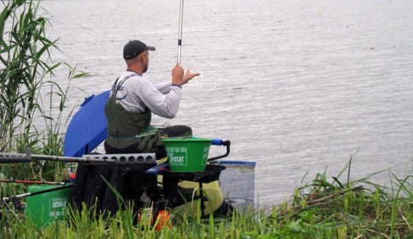 рыбак на матч