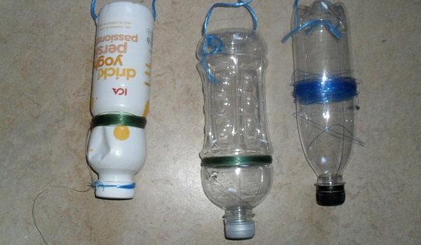 Жерлицы из бутылок