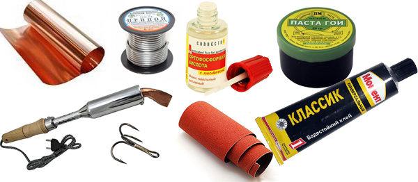 Материалы для изготовления бокоплава
