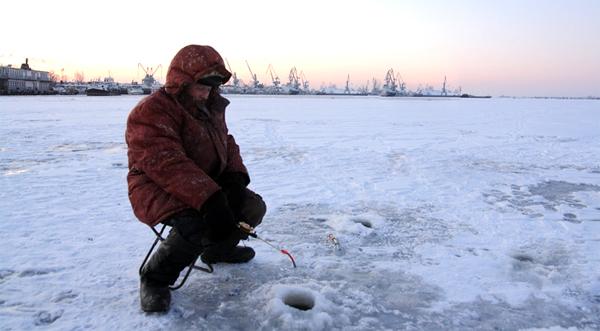 Ловля зимой на бокоплавы