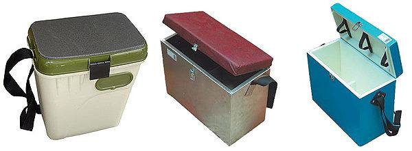 Зимний ящик из разных материалов