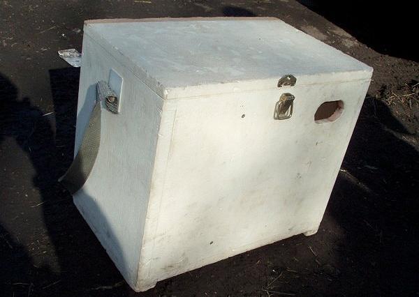 Ящик рыболовный из пенопласта самодельный