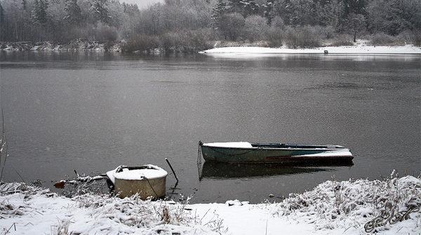 Река поздняя осень