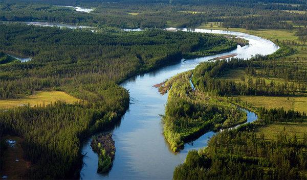 Верховье реки